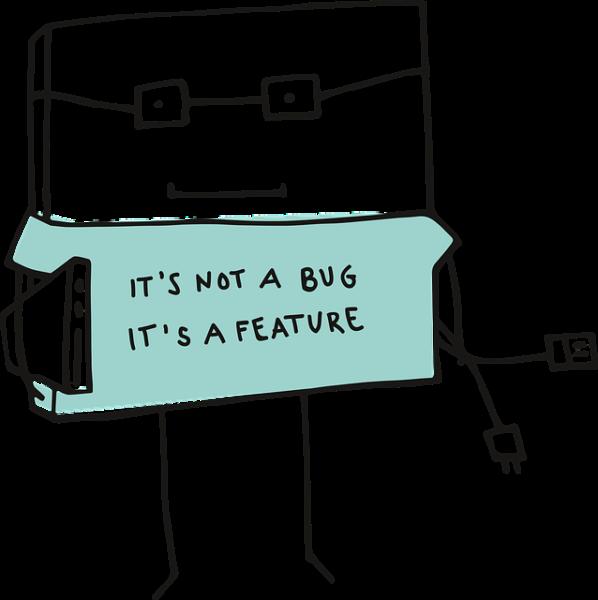 メガネをつけたロボット